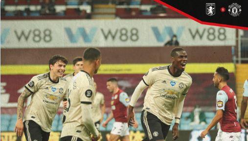 Aston Villa Vs Manchester United 0-3 Highlights