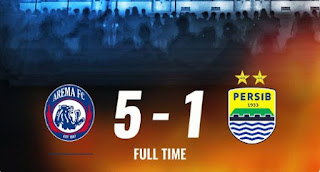 Arema FC vs Persib Bandung 5-1 Highlights