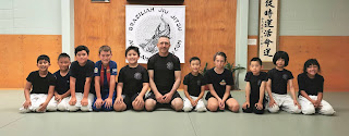 Auckland Kids BJJ group photo