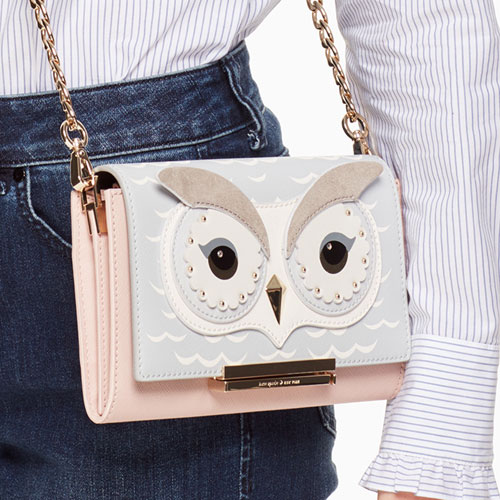 I Have Featured Quirky Designs By Kate Spade In The Past Aw17 Newest Collection Offers Whimsical Owl On Bags Jewelry And Sleepwear