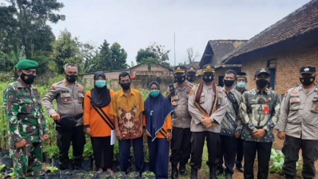Desa Ratu Abung  diresmikan Polres Lampura Menjadi Kampung Tangguh Nusantara