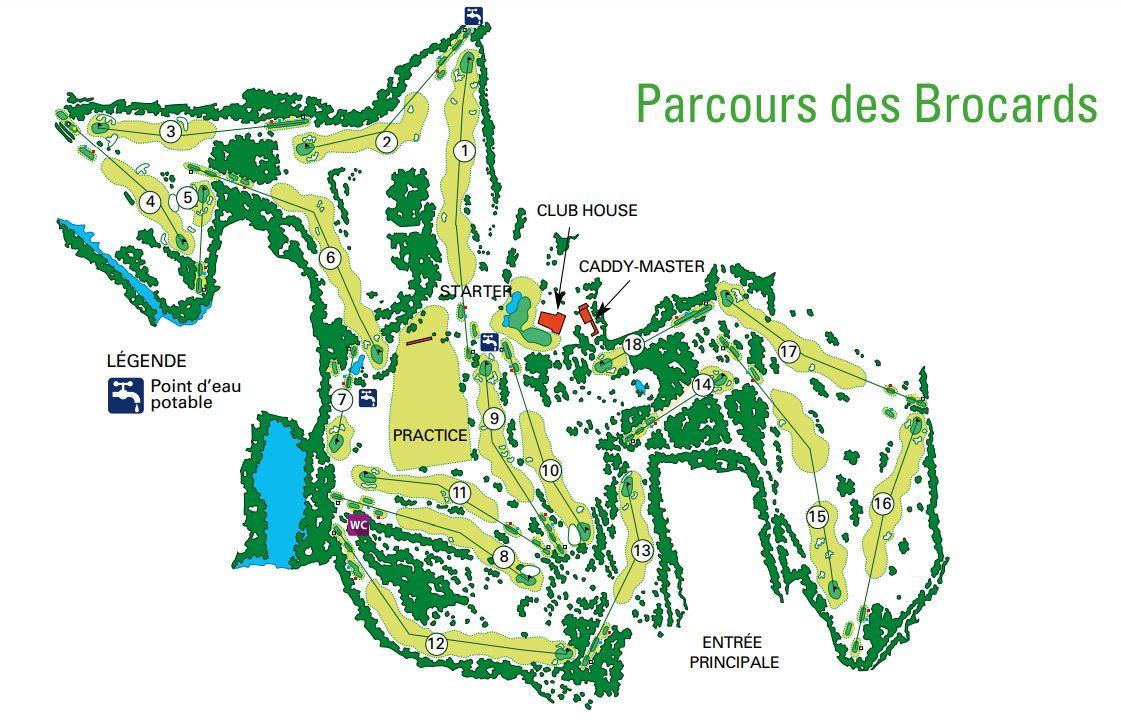 Parcours des Brocards - Golf Club de Lyon
