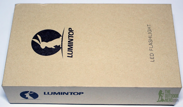 Lumintop Prince (Brass) [1x18650 EDC Flashlight] - In Box 1