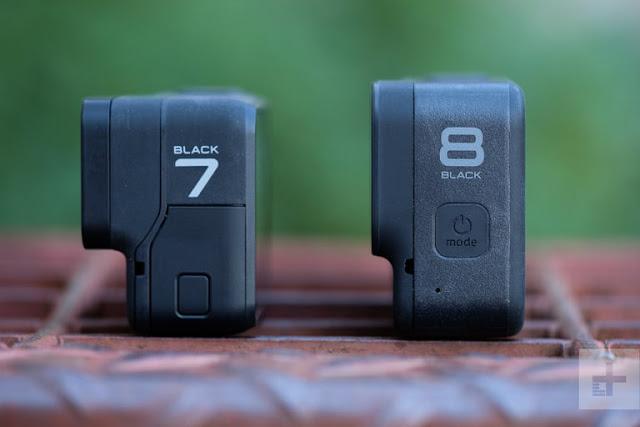 GoPro Hero8 Black vs GoPro Hero7 Black