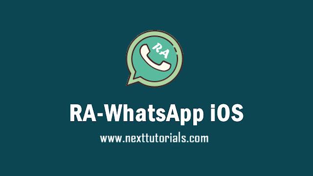RA WhatsApp iOS v8.93 Apk Mod Latest Version Anti Banned,Install Aplikasi RAWA iOS Versi Terbaru 2021,tema rawhatsapp ios keren,wa mod anti banned,