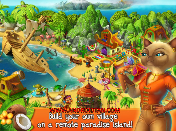 Free Download Island Village Mod Apk + Data v1.1.4 Unlimited Money Android Terbaru 2017