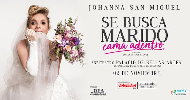 Johanna San Miguel en Arequipa