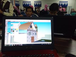 Kelas 3D Google Sketchup SK Tehel