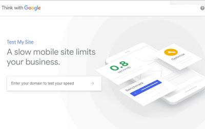 قياس سرعة المواقع على الهاتف