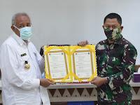 Pandemi COVID-19, Kodim Sleman Tiadakan Upacara  Penutupan  TMMD