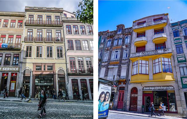 Fachadas históricas da Cidade do Porto, Portugal