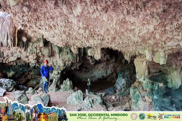 cave in San Jose Occidental Mindoro Philippines
