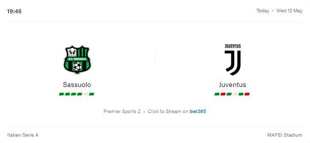 Sassuolo vs Juventus Preview and Prediction 2021