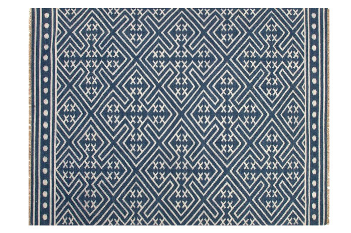 Blue and White Rug from Greige Design | 20 Classic Style Rugs for Any Budget at www.andersonandgrant.com