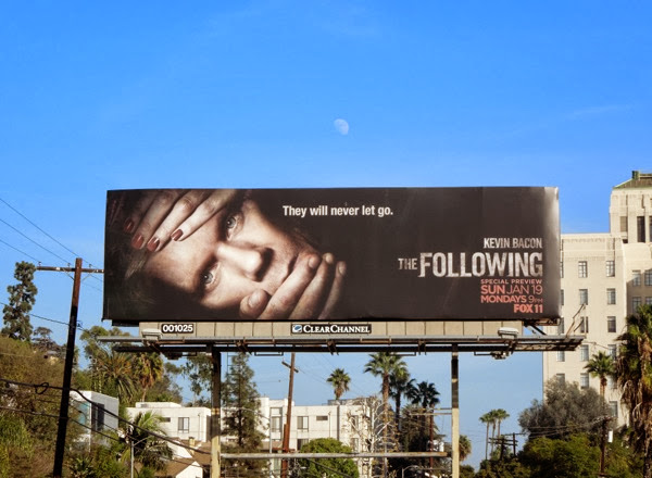 The Following series 2 billboard