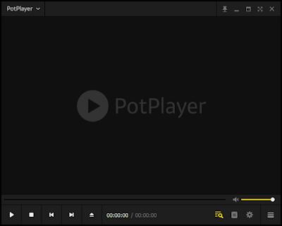Aplikasi Pemutar Video Terbaik PotPlayer