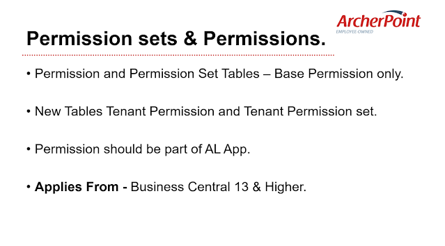 Permission and Permission Sets - During Upgrade