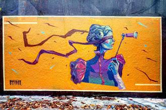 Sunday Street Art : Primal - rue Henri Noguères - Paris 19
