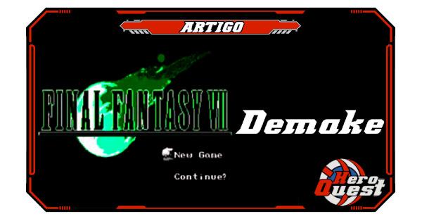 FF7 Demake