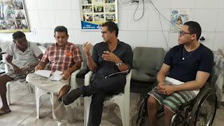 Prefeito Marcus digo participou de reunião mensal da (FCD), de Guarabira e foi recepcionado por membros da fraternidade