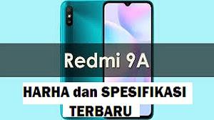 Redmi 9A Harga dan Spesifikasi