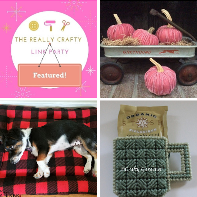 The Really Crafty Link Party #187 featured posts