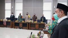 Dandim Pekalongan Hadiri Rapat Paripurna DPRD, Penetapan Paslon Walikota Terpilih