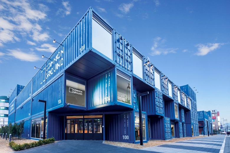 Container Restaurant And Container Kiosk Design Idea