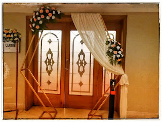 banquet hall entrance decorations india