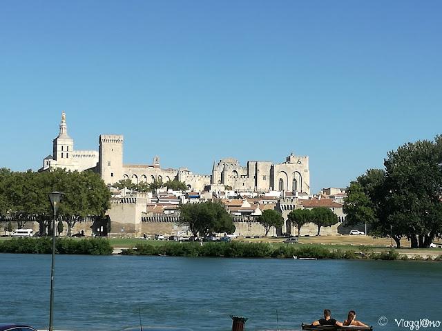 Vista Panoramica della città di Avignone