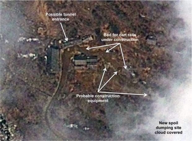 Terowong Ujian Nuklear Korea Utara Runtuh