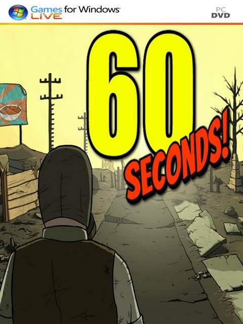 تحميل لعبة 60 Seconds مضغوطة كاملة برابط واحد مباشر مجانا