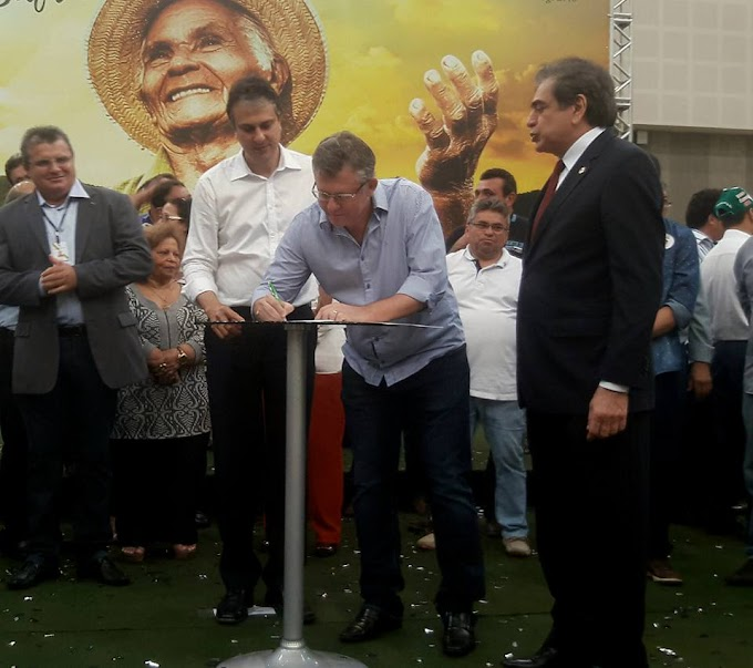 Prefeito de Pacujá Alex Melo assina termo de adesão ao programa Garantia Safra 2016-2017