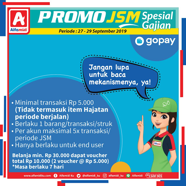 #Alfamidi - #Promo Katalog JSM Periode 27 - 29 September 2019