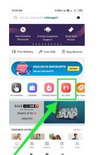 GlowRoad App & Order Rs.1 Products
