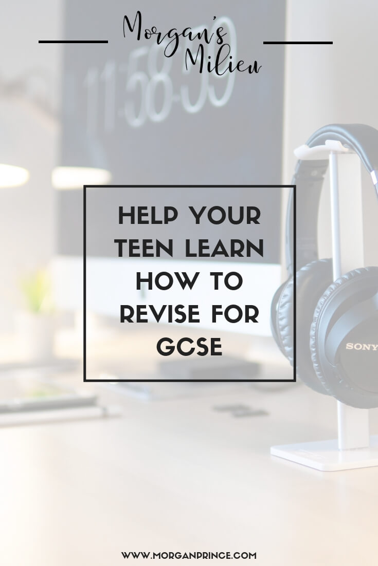 Helping Your Teen Learn How To Revise For GCSE | It may be your teen taking the exams but you can help them too!