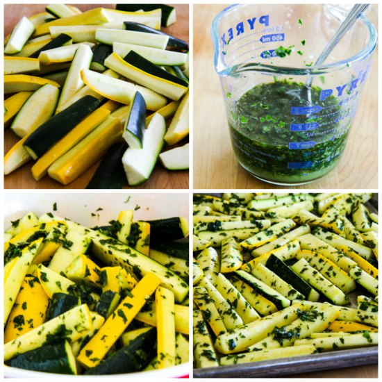 Roasted Summer Squash with Lemon, Mint, and Feta was first posted in ...