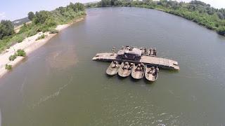Εκπαίδευση στη Διάβαση Ποταμού της 30ΗΣ Μηχανοκίνητης Ταξιαρχίας