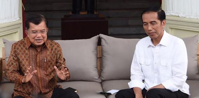 Pukulan Telak Bagi Jokowi, Pernyataan JK Segaris Dengan Kecemasan Publik
