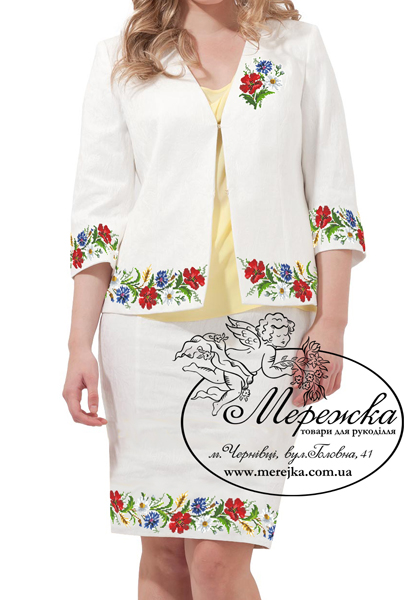 8d1a8c14bc1dbd Кольорова символьна схема для вишивання жіночої блузи. Арт. 12-48. Формат  А3. Розроблена в палітрі ДМС. Купити схему можна у інтернет-магазині