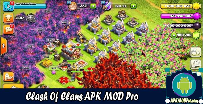 Clash of Clans MOD APK 13.0.25 (Unlimited Money) Terbaru 2020
