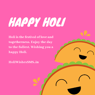 holi sms wishes