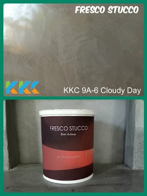 Fresco Stucco KKC 9A-6 Cloudy Day Kemasan 1Kg