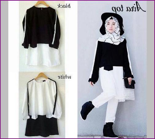 baju hijab kekinian