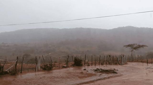 Chuvas atingem várias cidades na região do Sertão. Veja os índices