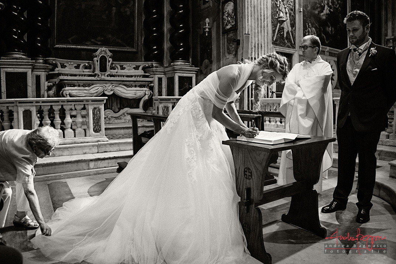 cerimonia Sant'Ambrogio matrimonio Varazze