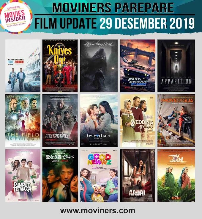 FILM UPDATE 29 DESEMBER 2019