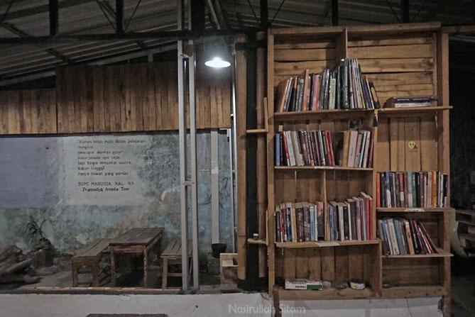 Koleksi buku yang bisa dipinjam