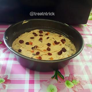 Moist Light Fruit Cake  Recipe @ treatntrick.blogspot.com