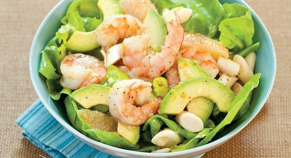 How to make shrimp salad with avocado